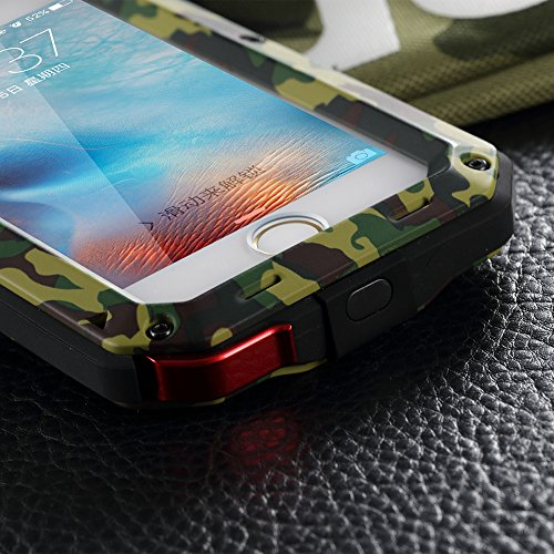 outlet store e4e4a 5e327 iPhone 6S Case,LIGHTDESIRE [Newest] Aluminum Alloy Army - Import It All