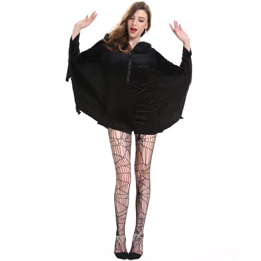 YOUTH UNION Women's Halloween Cosplay Costume Bat Vampire Dress Up (L) by YOUTH UNION (Image #6)