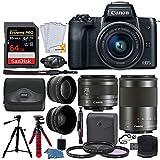 Canon EOS M50 Mirrorless Digital Camera + EF-M...