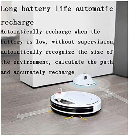 XJZKA Robot de Balayage Intelligent Anti-Chute, Recharge Automatique et aspirateur Ultra-Silencieux Convient pour Nettoyer Les Poils d\'animaux Tapis de Sol