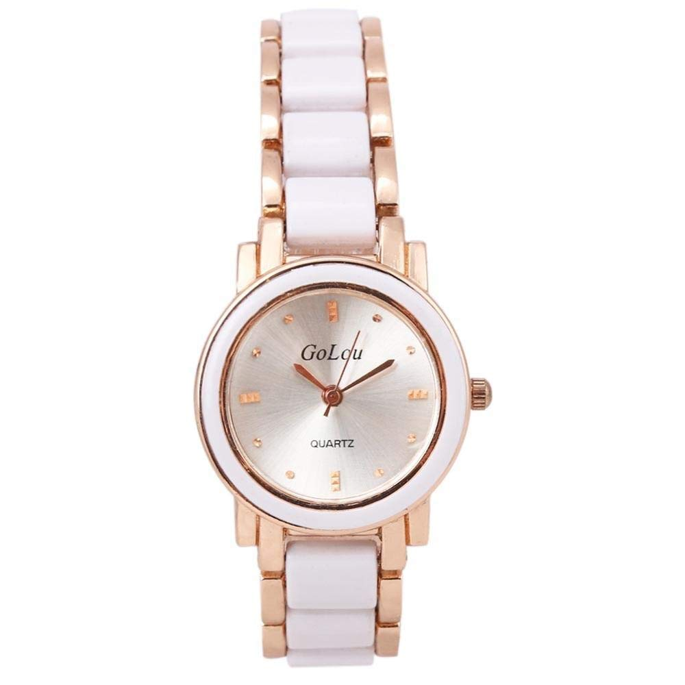 Amazon.com : Lavenderport Women Watch Bracelet Wrist Quartz : Sports & Outdoors