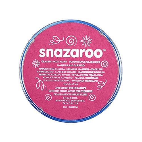 (Snazaroo Classic Face Paint, 18ml, Fuchsia Pink)