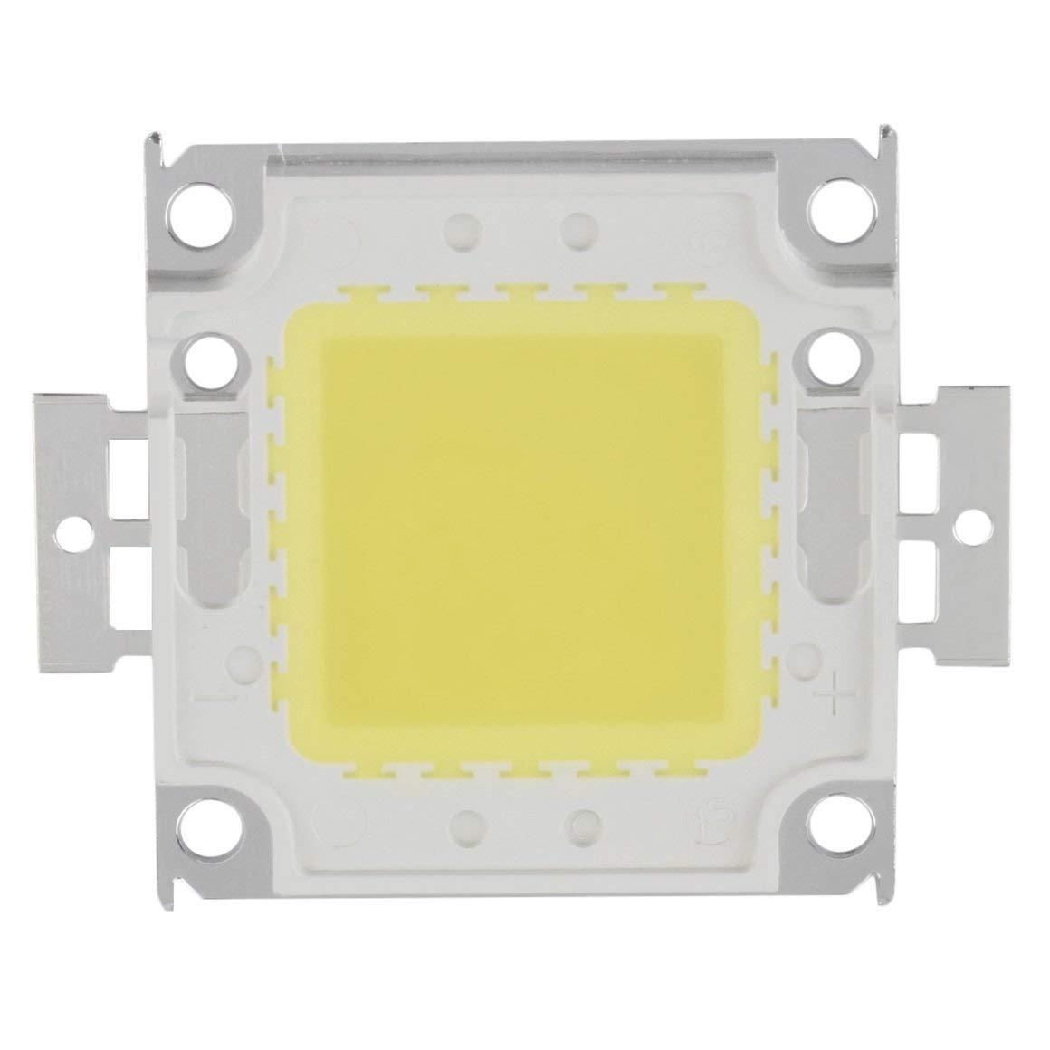 Blanco Funnyrunstore Aluminio Bajo Consumo Alto Brillo Blanco//C/álido Blanco RGB SMD Led Chip L/ámpara de luz de inundaci/ón Grano 50W 5000LM