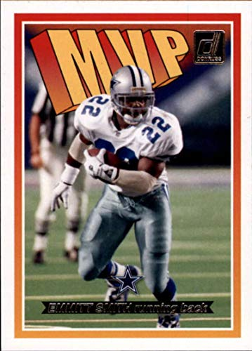 2018 Donruss MVP Football Card #15 Emmitt Smith NM-MT Dallas Cowboys Official NFL Trading Card