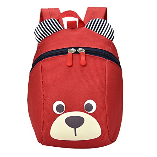 Zhhlaixing Cute Zaino scolastico Designer Kindergarten Anti-lost Children Bags School Backpack