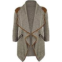 ZOMUSA Hot Sale Women/Girls Plus Size Long Sleeve Casual Cardigans Open Front Coat