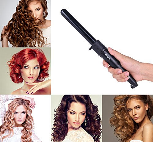 Ohuhu 5 In 1 Curling Iron Wand Set With 5 Interchangeable