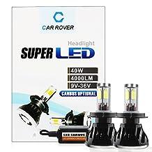 40W LED Bulb 9003,H4 LED Headlight,CAR ROVER Canbus Car LED Conversion Kit,LED Fog Lights for Trucks