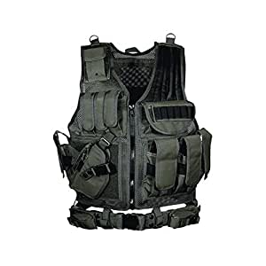 UTG 547 Law Enforcement Tactical Left  Handed Vest, Black