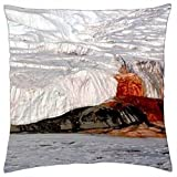 Blood Falls, Antarctica - Throw Pillow Cover Case (16
