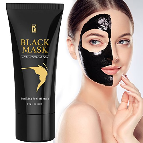 Blackhead Remover Mask, Black Mask, Peel Off Mask, Charcoal Mask, Blackhead Peel Off Mask 1 tube - Faces People Long With
