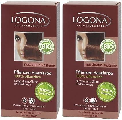 Logona Henna Tinte para cabello Tintura de pelo vegetal ...