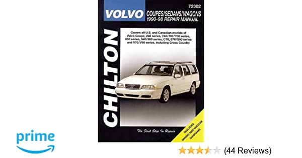 Volvo coupes sedans and wagons 1990 98 haynes repair manuals volvo coupes sedans and wagons 1990 98 haynes repair manuals chilton 9780801990953 amazon books fandeluxe Images