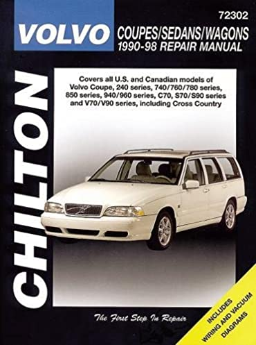 volvo coupes sedans and wagons 1990 98 haynes repair manuals rh amazon com 1998 volvo s70 repair manual 1998 volvo v70 service manual pdf