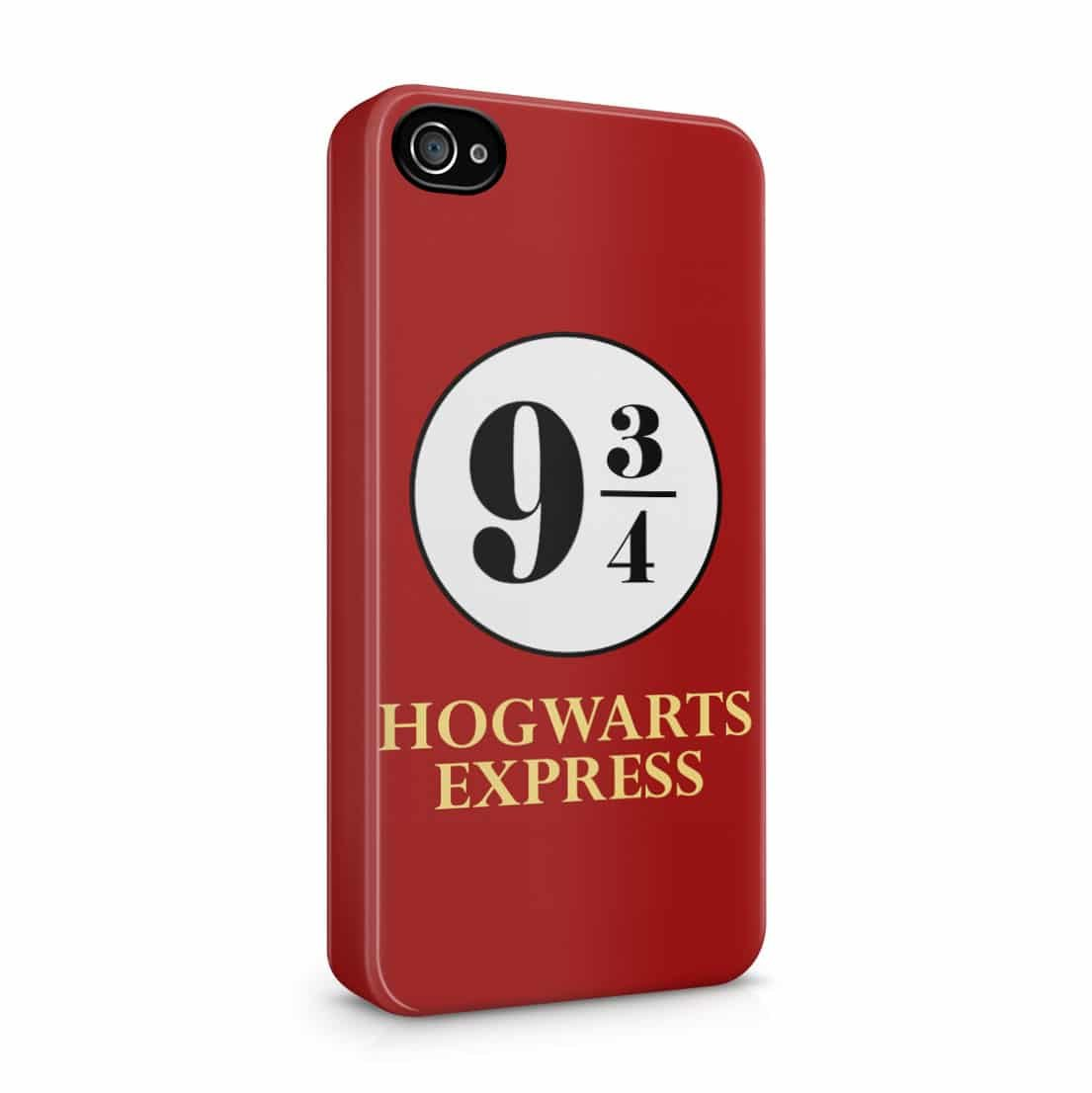 Harry Potter Hogwarts Express 9 3/4 iPhone 4 / 4S Hard Plastic Phone Case Cover