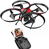 DROCON U818PLUS WIFI FPV Drone With Wide-Angle HD 2MP Camera,15 Min Flight Time, Altitude Hold, Headless Mode, One-Button Take-off And Landing, TF Card 4GB Included, Quadcopter Designed For Beginners