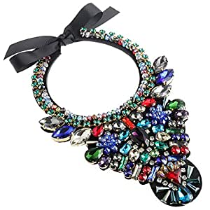 Statement Necklace Costume Jewelry Fashion Large Jewelry 1 PC with Holylove Gift Box