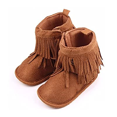 Winter Baby Toddler Boots Warm Shoes Fringe Soft Soled Infant Newborn Tassel First Walkers Girl Boot Keep Warm Footwear for Bebe