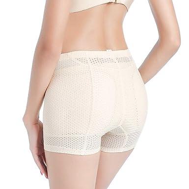 b202a4ab5dcb Women's Breatheable Butt Lifter Ass Padded Panties Slimmer Body Shaper Butt  Hip Enhancer Underwear at Amazon Women's Clothing store: