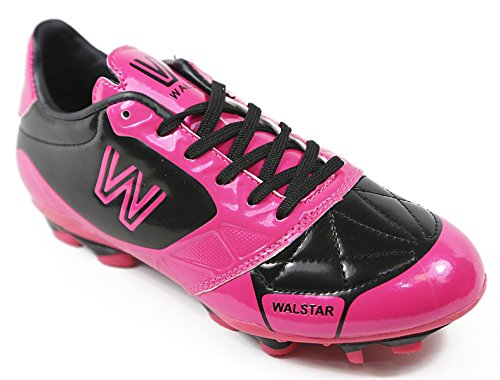 Walstar Girls and Boys Soccer Shoe Cleat(Toddler/Little Kid/Big Kid)