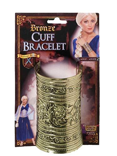 Bronze Cuff Bracelet Costume Jewellery -