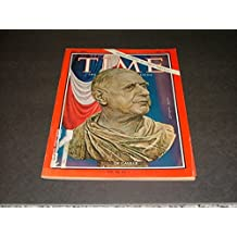 Time July 1, 1966 Behold Great Emperor Charles De Gaulle I (Hopefully No II)