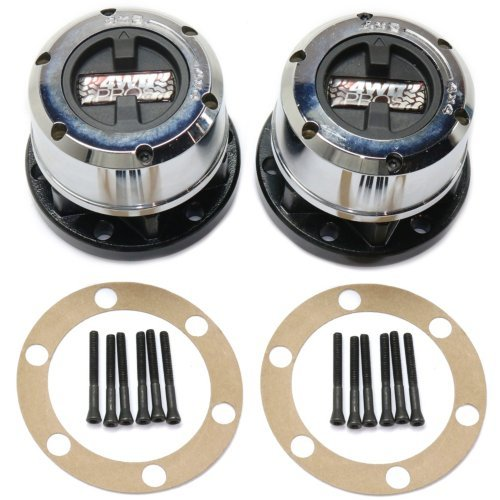 (Locking Hub compatible with Nissan Pathfinder 90-07 Manual Set of 2 28 Splines 6-Bolt)