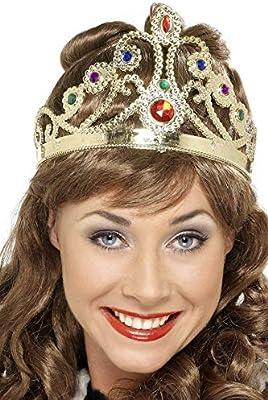 Smiffys-1437 Miffy Corona de reina con joyas, diferente variedades, multicolor, No es applicable (1437) , color/modelo surtido: Amazon.es: Juguetes y juegos