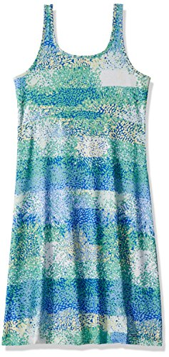 Floral Green Print (Columbia Women's Freezer III Dress, Winter Green Floral Print, Large)