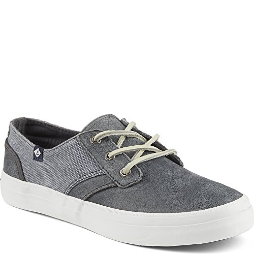 Sperry Top-sider Crest Rytteren Womens Leiligheter Og Oxfords Grå