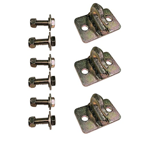Set of (3) Titan 5/16 Bolt-On Grab Hooks by Titan Attachments (Image #6)