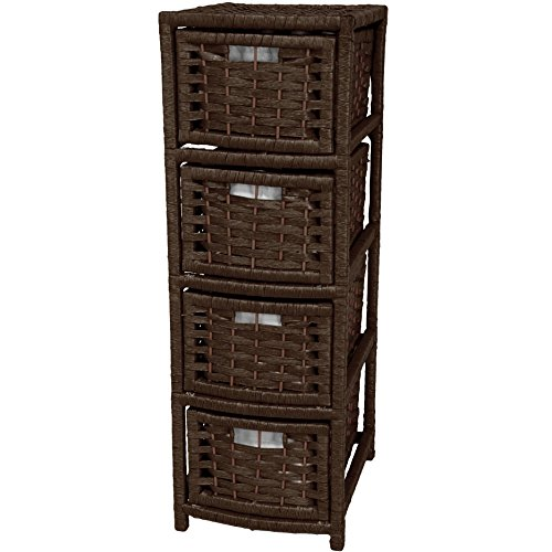 Rattan Chest Treasure (Oriental Furniture 32