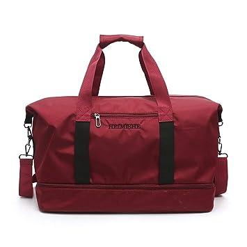 ZHOUBINBIN Fashion Sports Fitness Bag Mens Lightweight ...