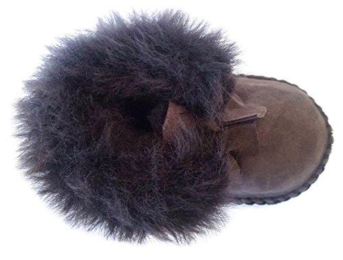 Plateau Tibet - ECHT LAMMFELL Baby Schuhe Krabbelschuhe Booties Babyschuhe Stiefel