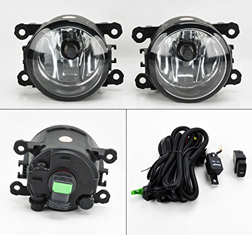 CPW (tm) Suzuki Grand Vitara & SX4 06-12 Euro Clear Front Fog Lights Kit RH LH Pair (Euro Clear Lamp Light Fog)