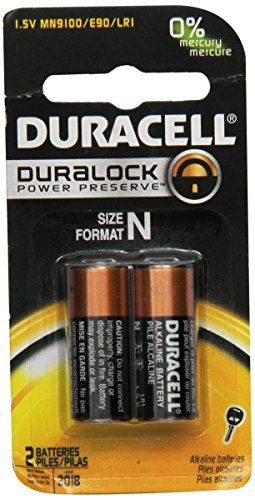 Duracell Coppertop Alkaline N
