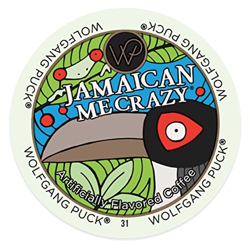 Wolfgang Puck Jamaican Me Crazy 96 K-Cups Flavored
