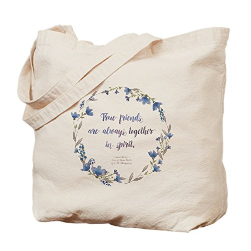 CafePress–Bolsa para herramientas–Anne de verde Gables cita–Gamuza de bolsa de lona bolsa, bolsa de la compra Medium caqui