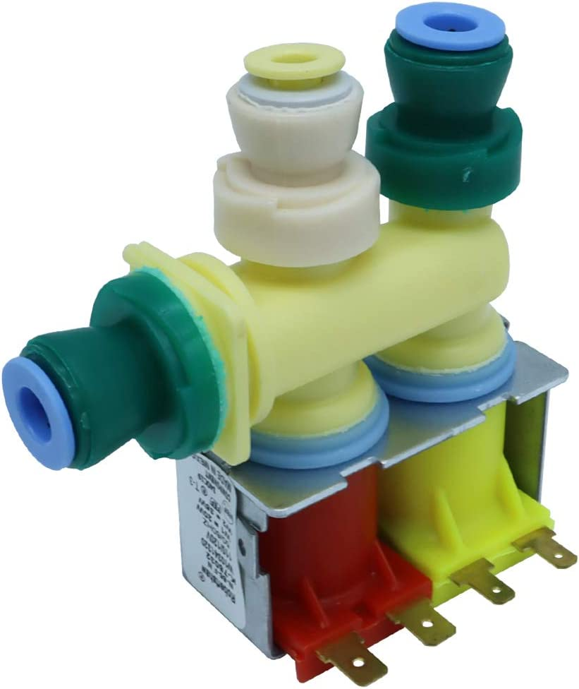 New Version W10341320 Refrigerator Water Inlet Valve for Whirlpool replaces WPW10341320 AP6019939 W10341320 PS11753250 by Robertshaw