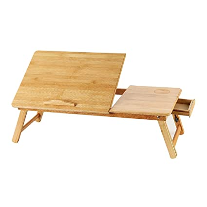 Fantastic Amazon Com Sn Portable Bamboo Laptop Adjustable Height Gmtry Best Dining Table And Chair Ideas Images Gmtryco