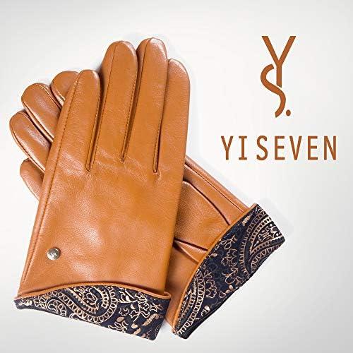 Damen  Echt Leder Handschuhe Gefüttert  Gr  S   M   L   XL   XXL   //P//01