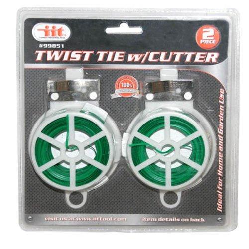 IIT 99851 Twist Tie with Cutter, 2-Pack (Cutter Twist)