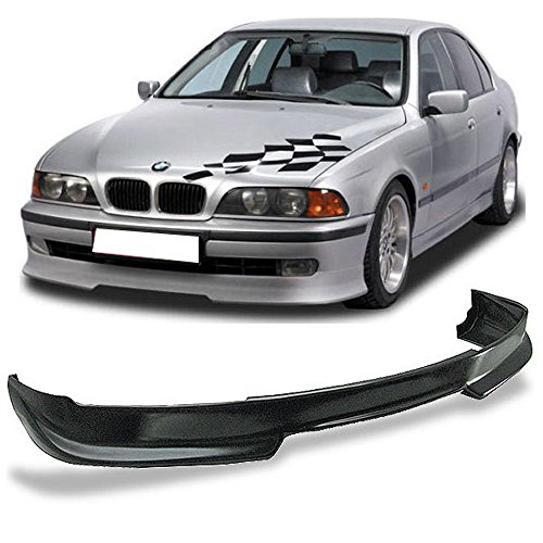 Front Bumper Lip Fits 1997-2000 BMW E39 5-SERIES | AC-S Style PU Black Front Lip Spoiler Splitter Air Dam Chin Diffuser Add On by IKON MOTORSPORTS | 1998 1999