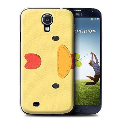 Coque de Stuff4 / Coque pour Samsung Galaxy S4/SIV / Poulet Design / Cousu des Animaux Effet Collection