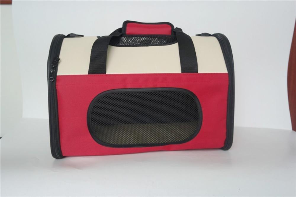 Daeou Daeou Daeou Zaino per animali domestici Gabbia di nylon traspirante pieghevole singola spalla cane portatile borsa gatto, 50  28  33 cm 78ac34
