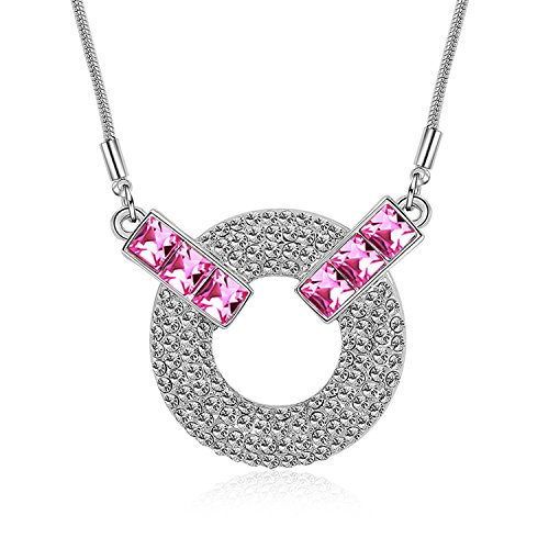 Collocation-Online Authentic Austrian Crystal Boutique Necklace Jewelry Accessories - Sweet Circle