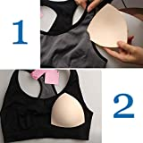 5 Pairs Bra Pads Inserts, Removable, Air