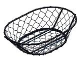 American Metalcraft WIR4 Oblong Chix Wire Basket, Black