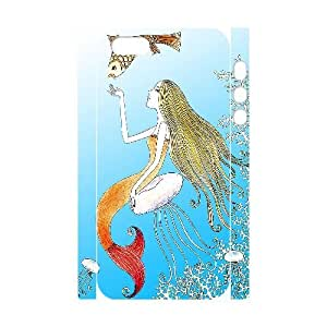 C-Y-F-CASE DIY The Little Mermaid Pattern Phone Case for iPhone 5,5S