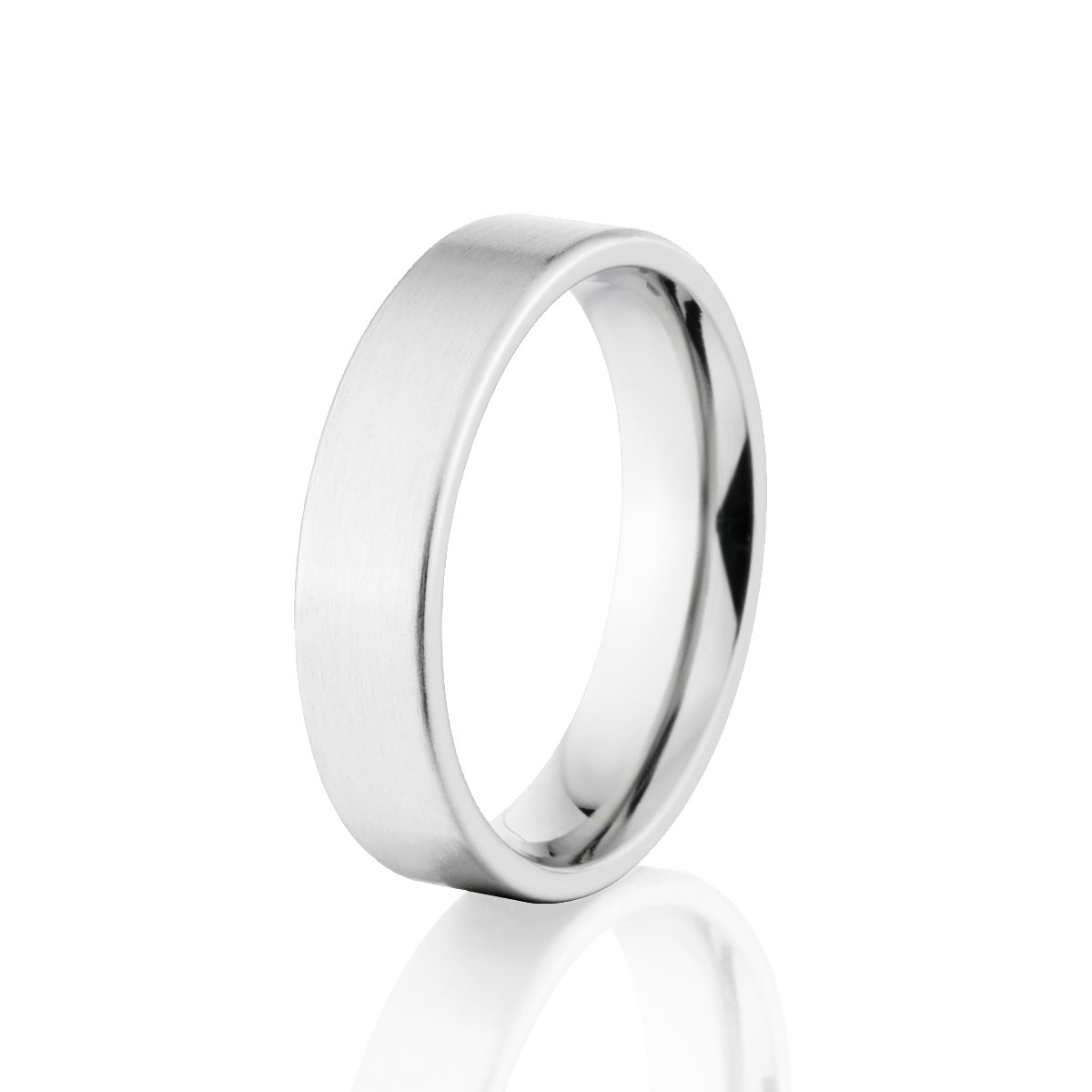 Custom 5mm Cobalt Band, USA Made Cobalt Rings, Comfort Fit Ring